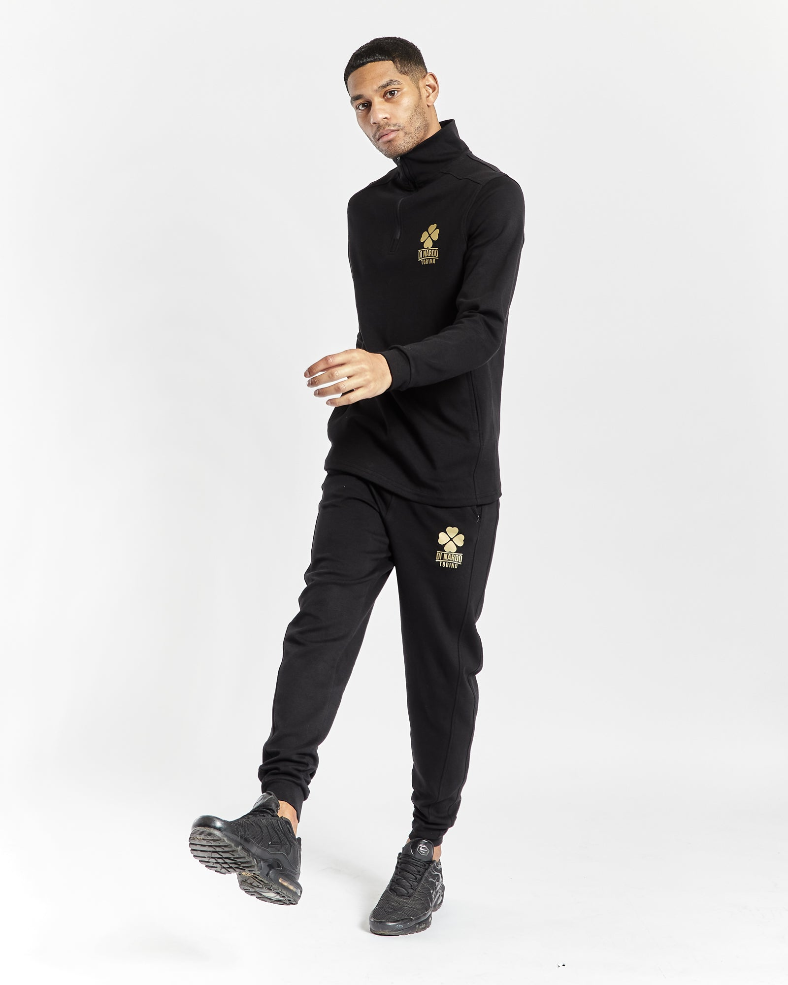Di Nardo Men's Black Joggers