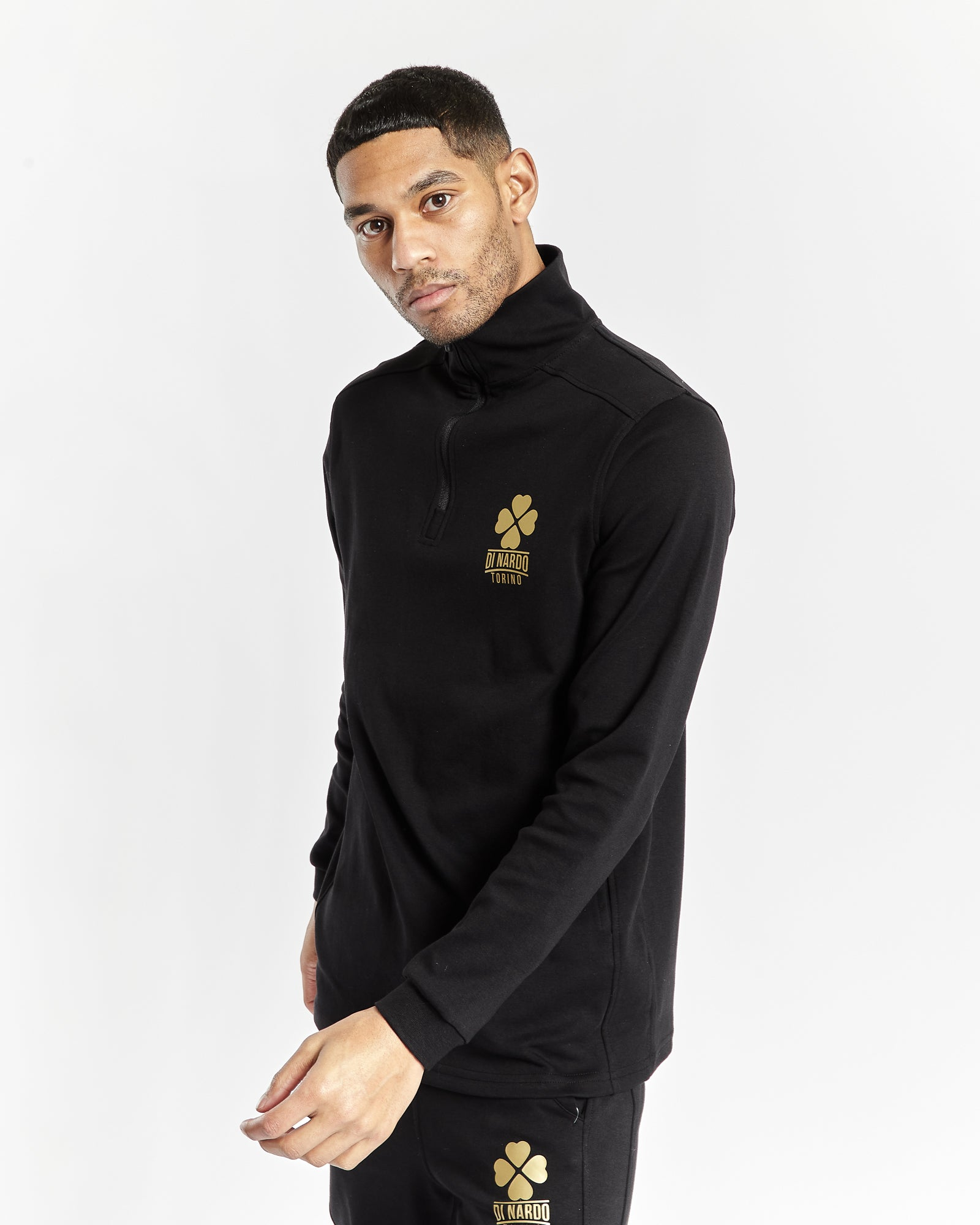Di Nardo Men's Black Sweatshirt