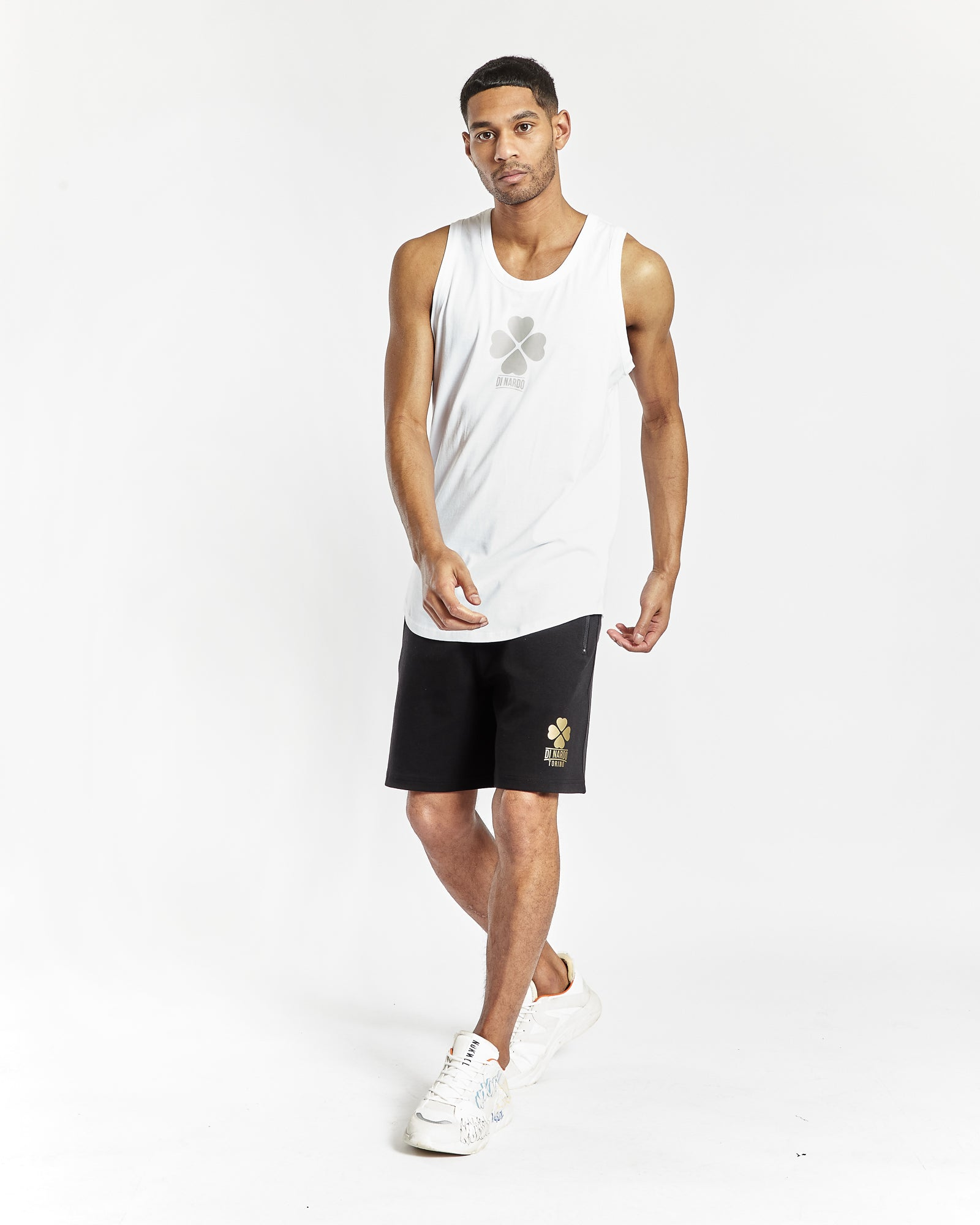 Di Nardo White Gym Vest
