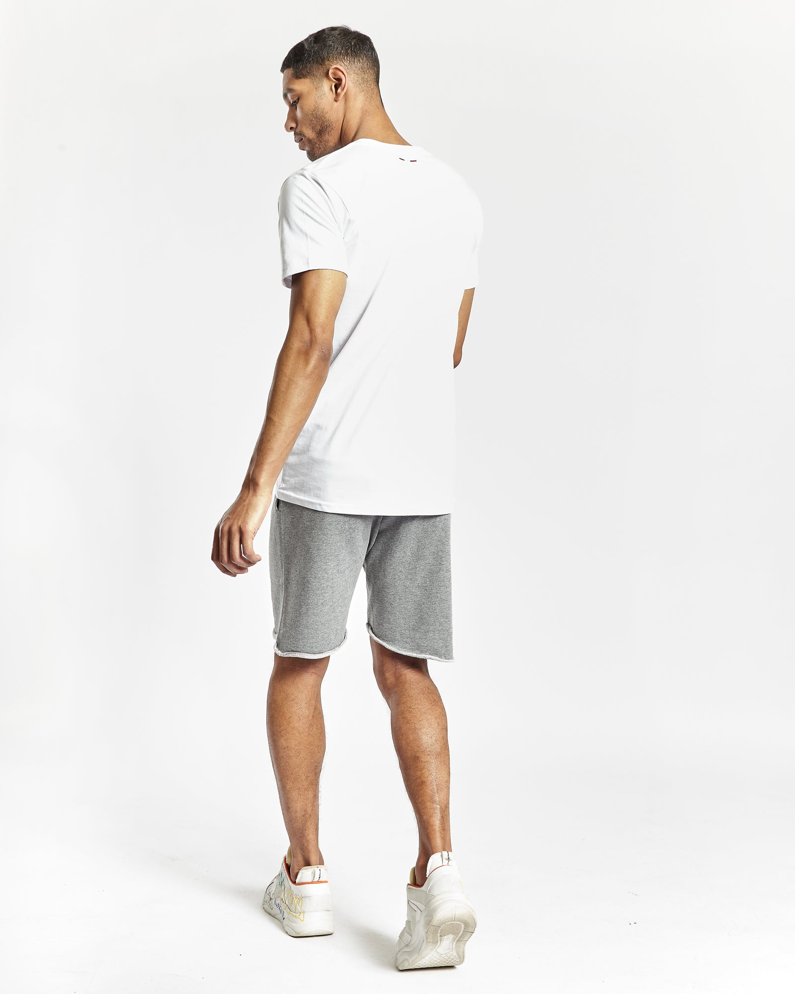 Di Nardo Men's Grey Track Shorts