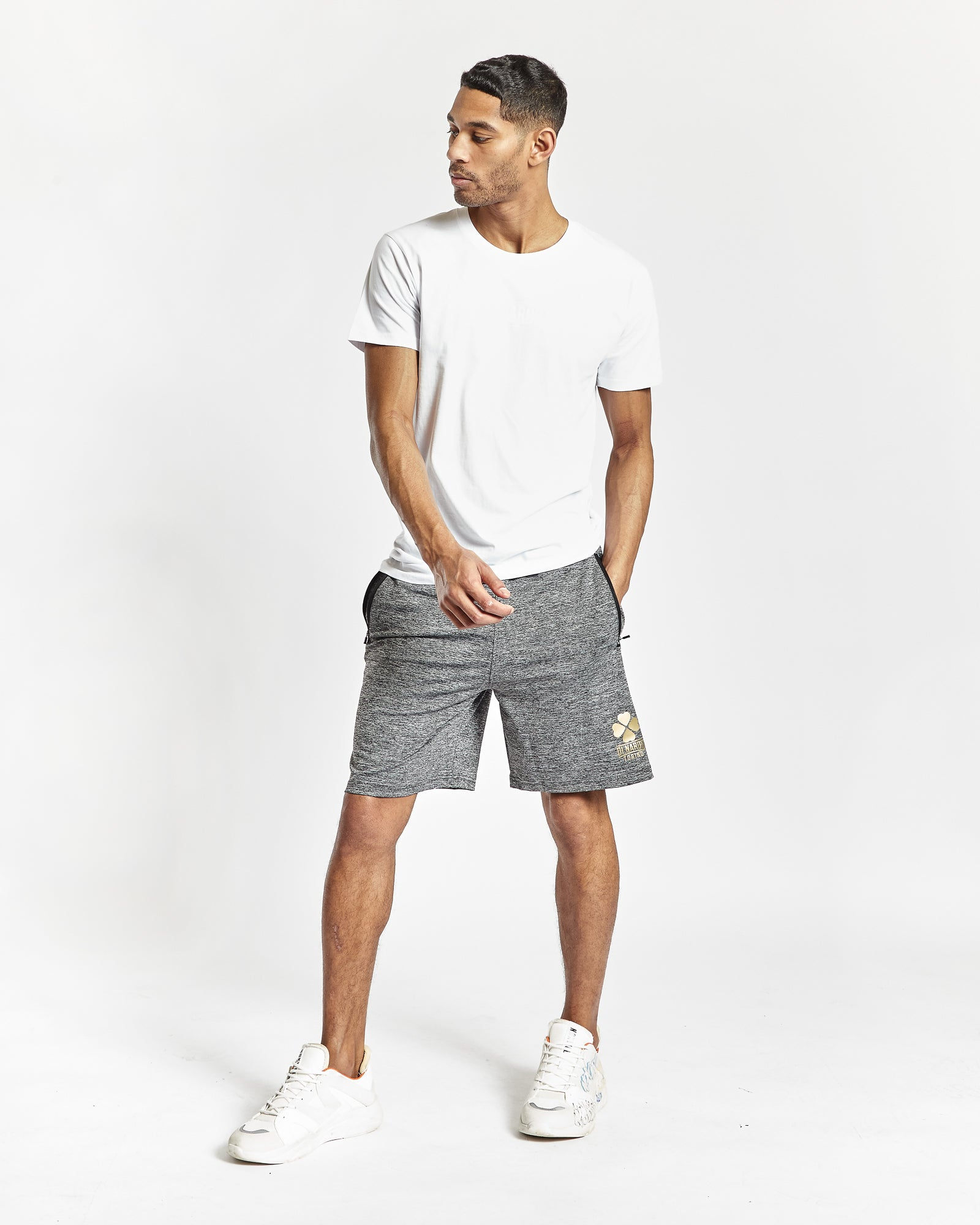 Di Nardo Men's Grey Gym Shorts