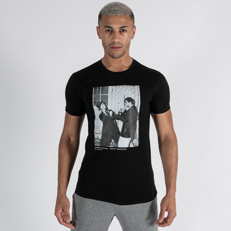 Sinatra and Marciano Print T-Shirt