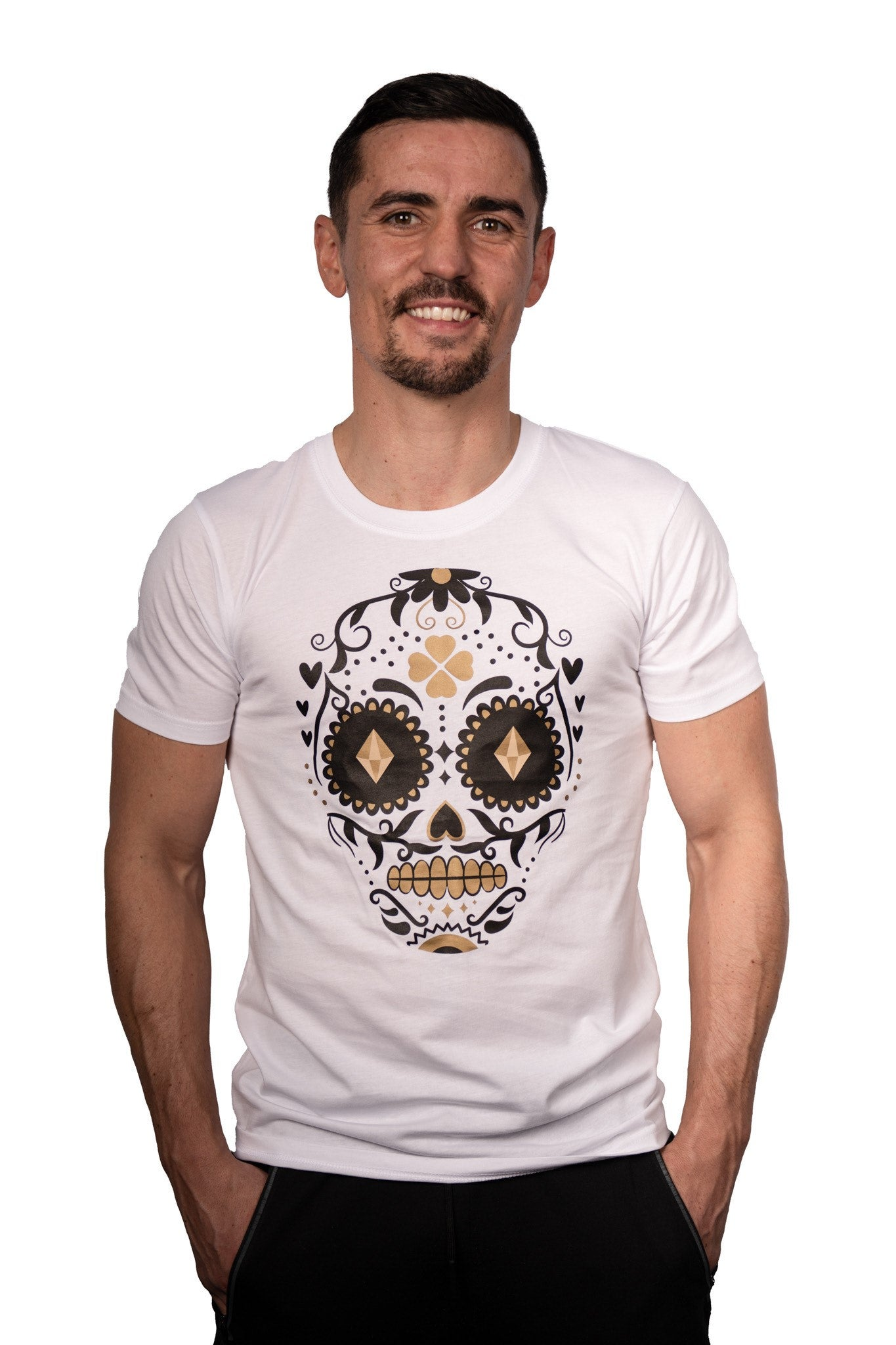 Di Nardo Day of the Dead T-Shirt (White)