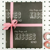 Big Hugs and Kisses Chalkboard Wrap 5 sheets