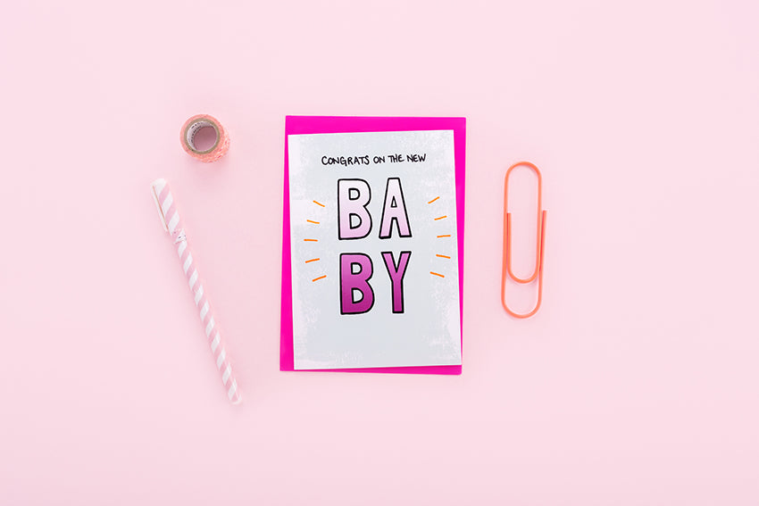 Congrats on the New Baby Card
