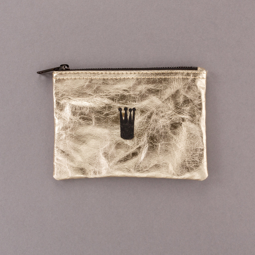 For all the Queens - Gold Pouch