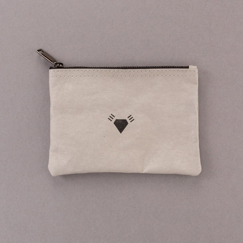 Rough Cut - Grey Pouch