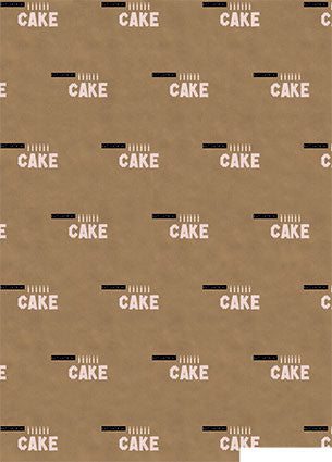 Eat Lots of Cake Washi Tape Wrap 5 sheets