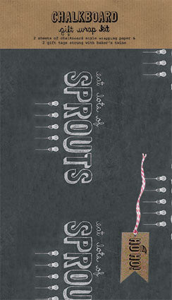 Eat Lots of Sprouts Chalkboard Wrap Kit