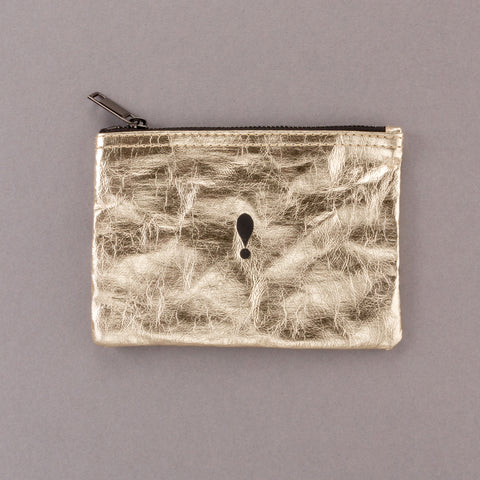 Make a Statement - Gold Pouch
