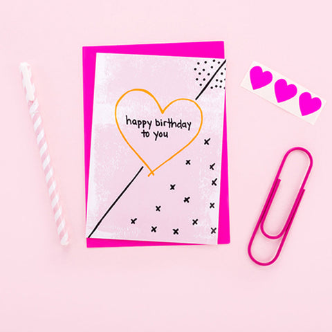 Happy Birthday to You Super Fab Card