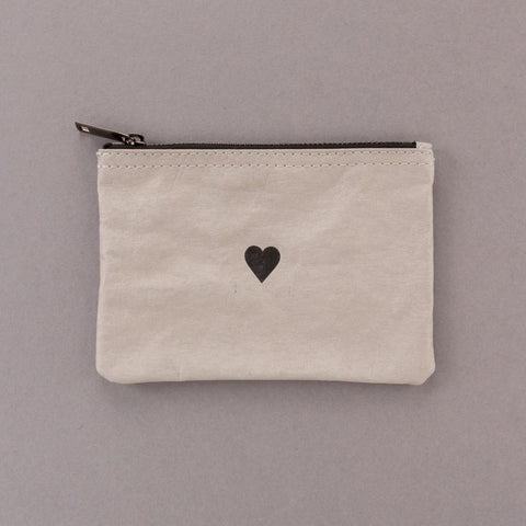 Heart of Stone - Grey Pouch