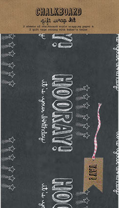 Hooray! It's Your Birthday Chalkboard Wrap Kit