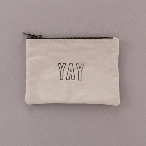 Cheer On - Grey Pouch