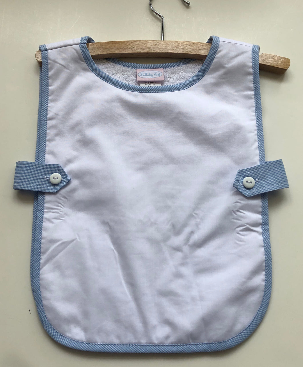Lullaby Set button tab bib