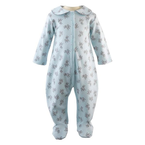 Rachel Riley Lamb babygro- Blue
