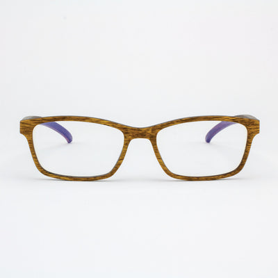 Lee adjustable pear wood prescription ready eyeglasses