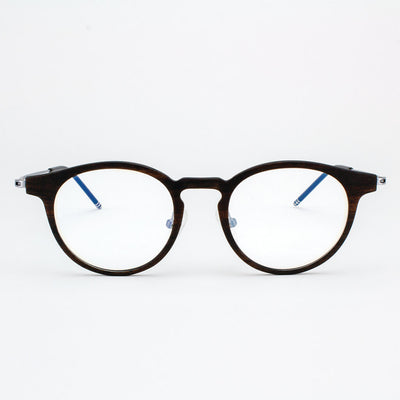 Marion featherlight titanium and ebony eyeglasses