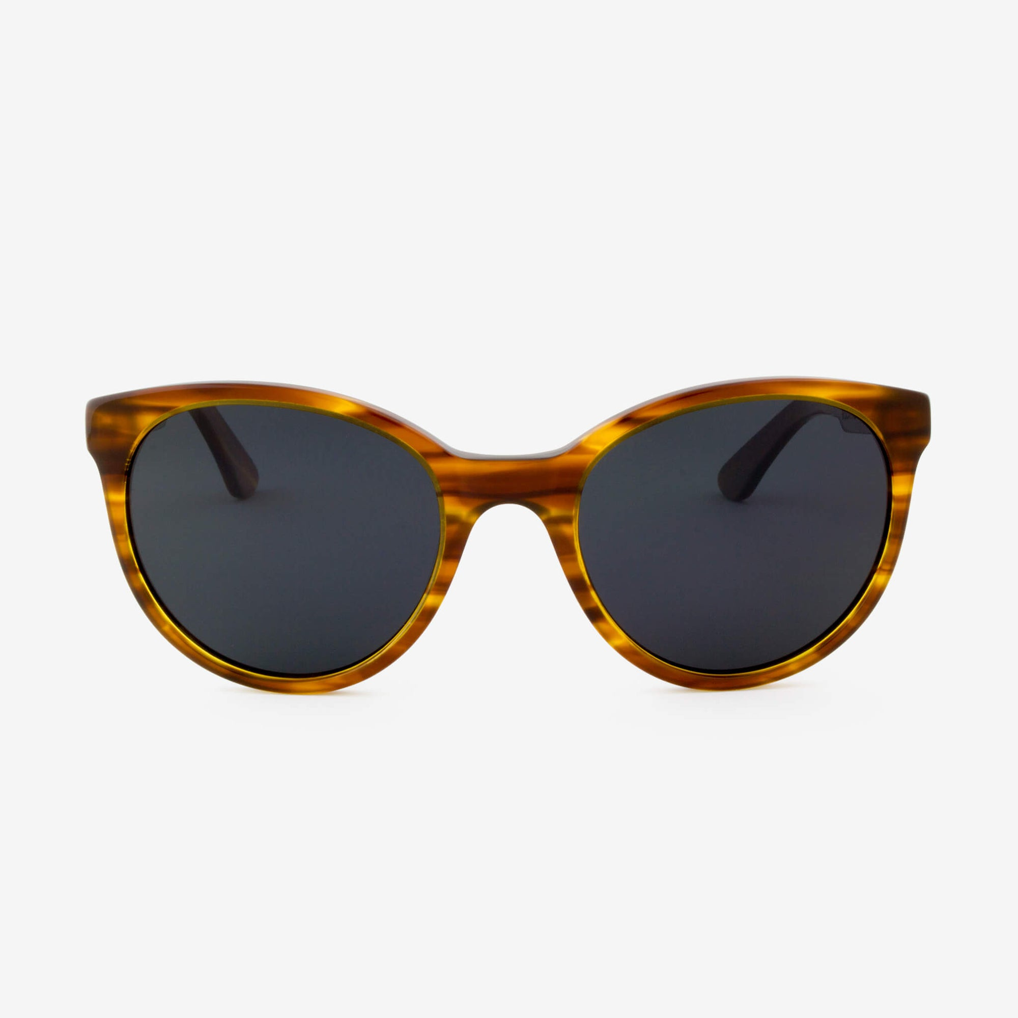 Biscayne Streaming Light acetate and wood sunglasses