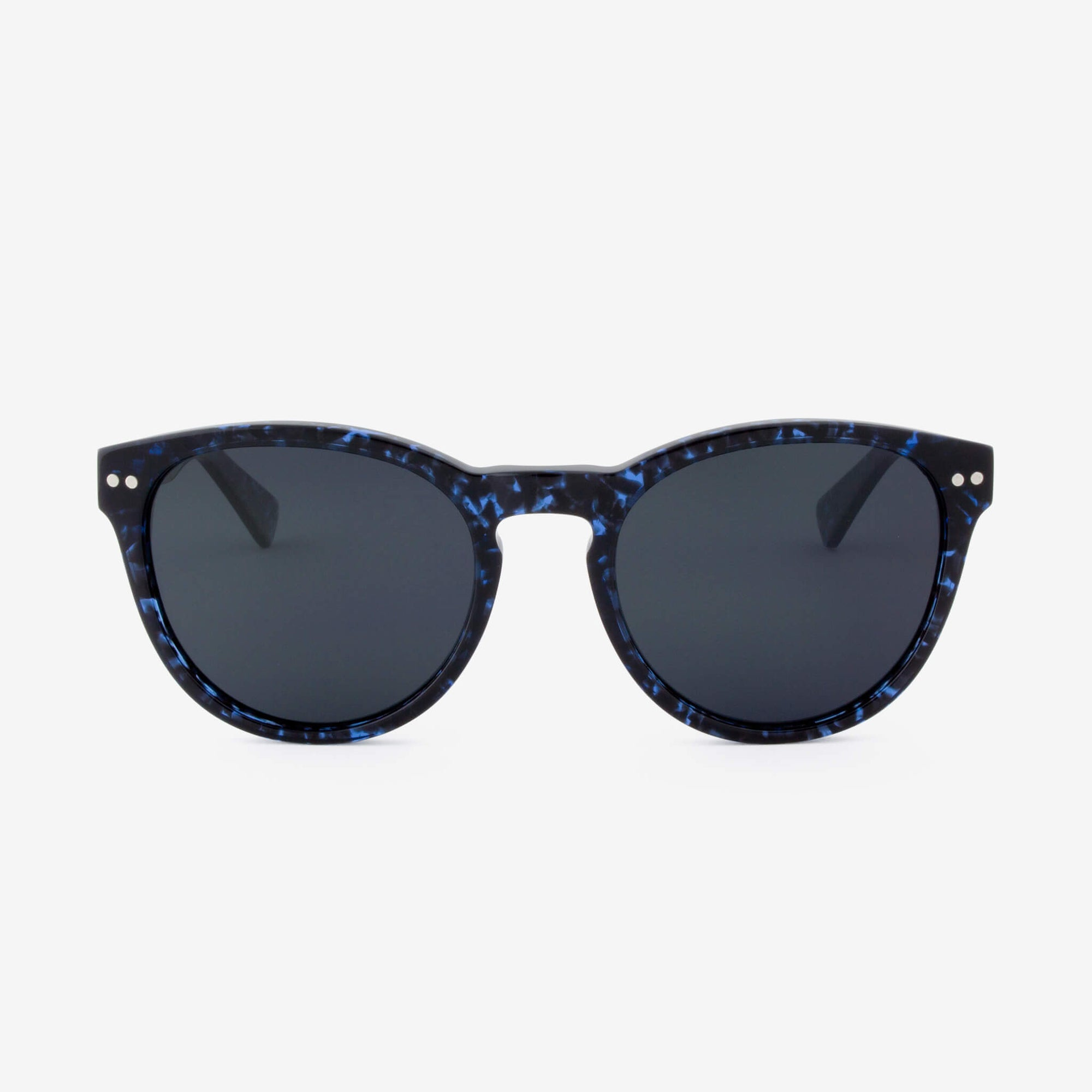 Davie Blue Abyss tortoise shell acetate & wood sunglasses