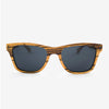 Delray Zebrawood flexible wooden sunglasses