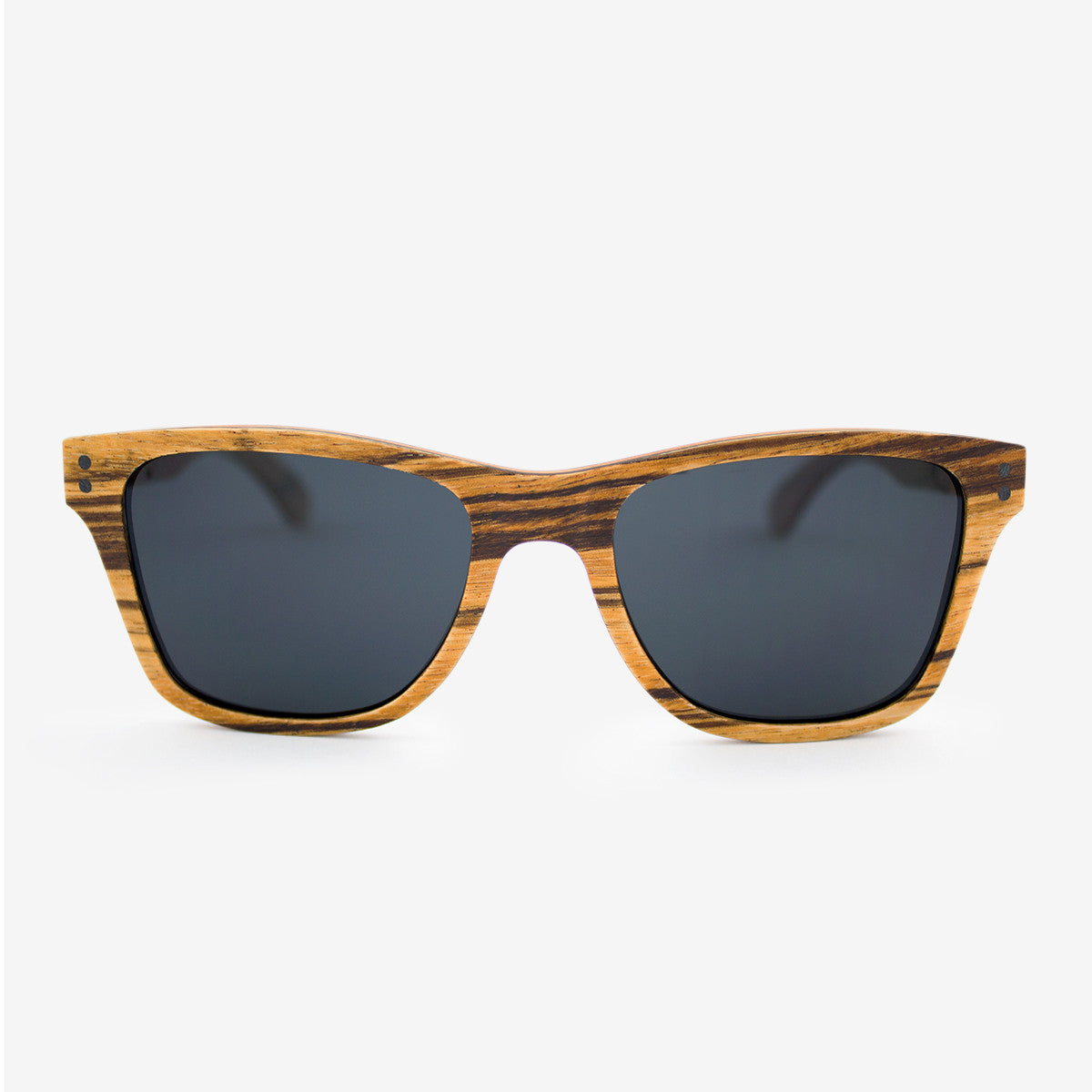 Delray Zebrawood adjustable wood sunglasses