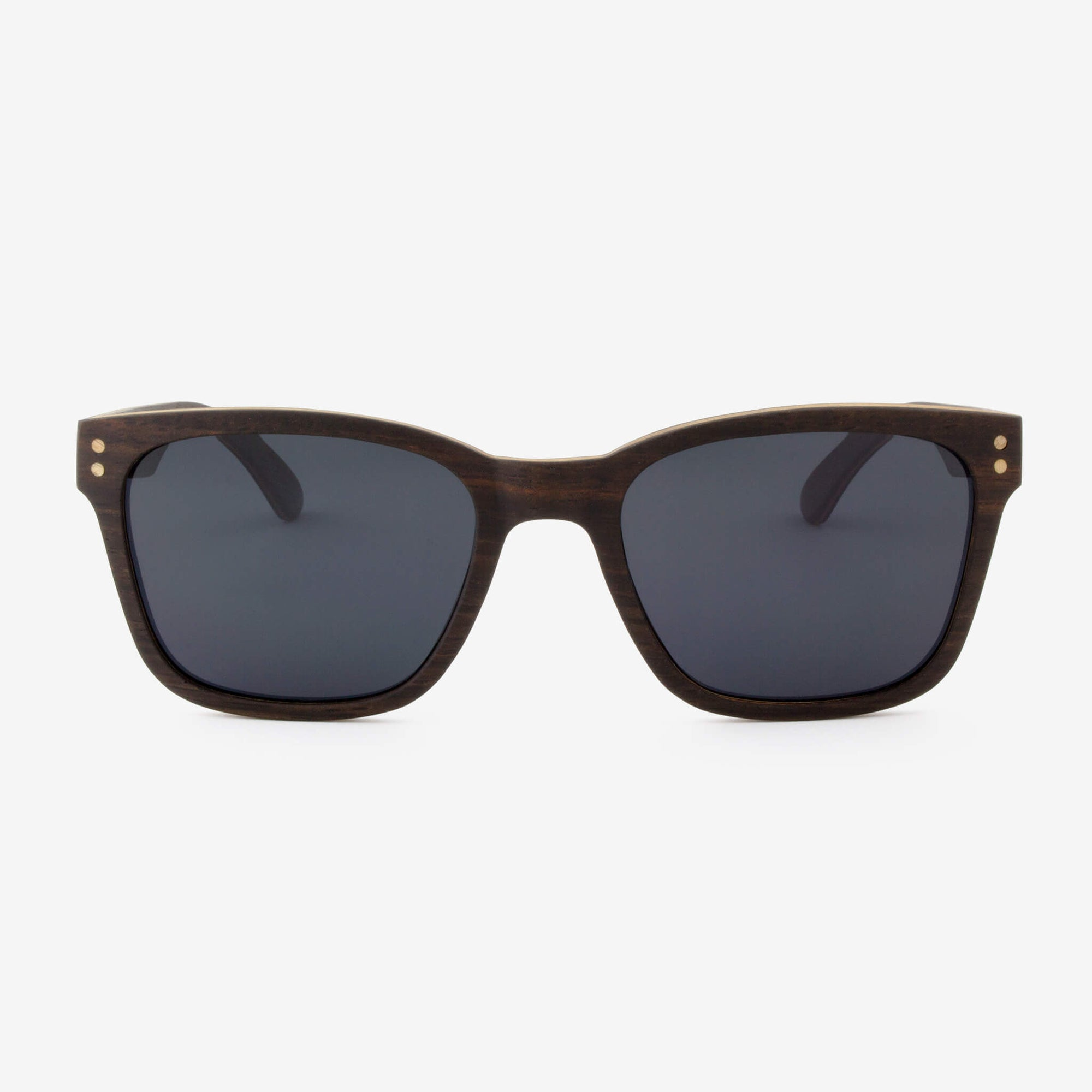 Flagler ebony adjustable wood sunglasses