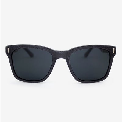Flagler Metallic Fiber Acetate and wood sunglasses