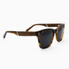 Flagler Streaming Light Acetate and wood sunglasses with rosewood temples