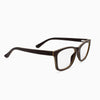 Franklin ebony adjustable wood eyeglass temples