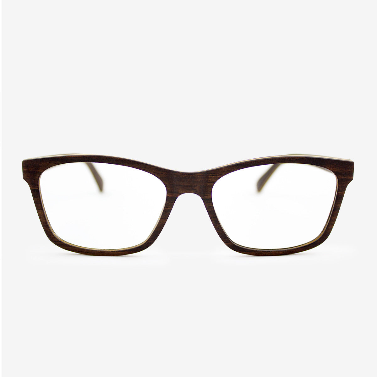 Franklin ebony adjustable wood eyeglasses