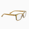 Franklin maple adjustable wood eyeglass temples