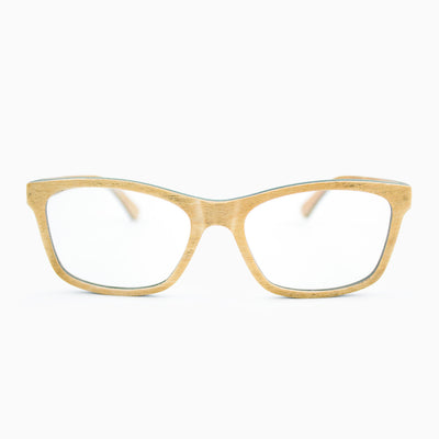 Franklin maple adjustable wood eyeglasses
