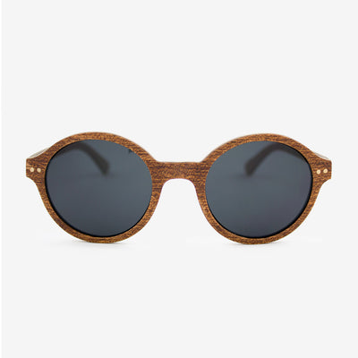 Gables sapele adjustable wood sunglasses
