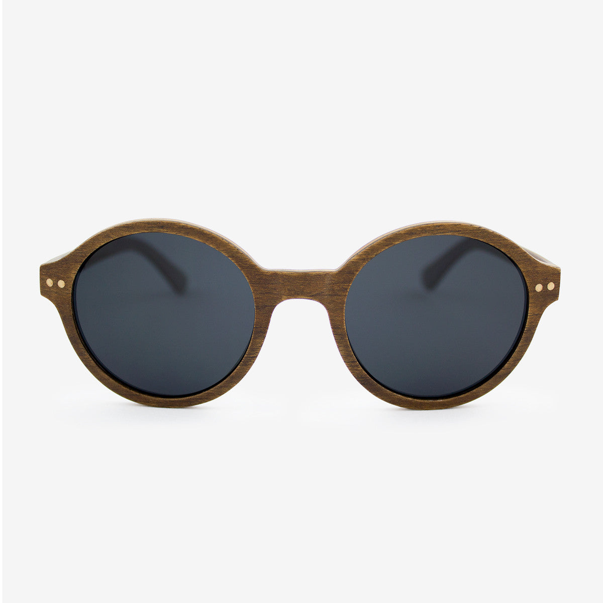 Gables walnut adjustable wood sunglasses with polarized lenses