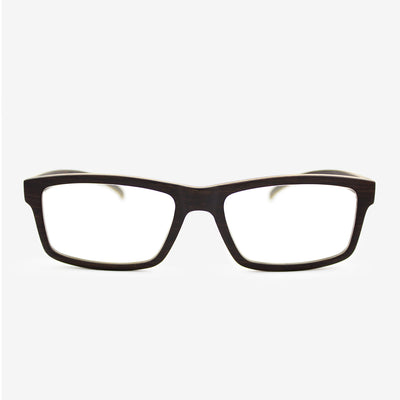 Marco ebony adjustable wood eyeglasses