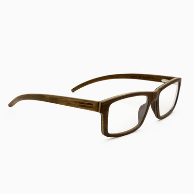 Marco walnut adjustable wood eyeglasses, prescription ready