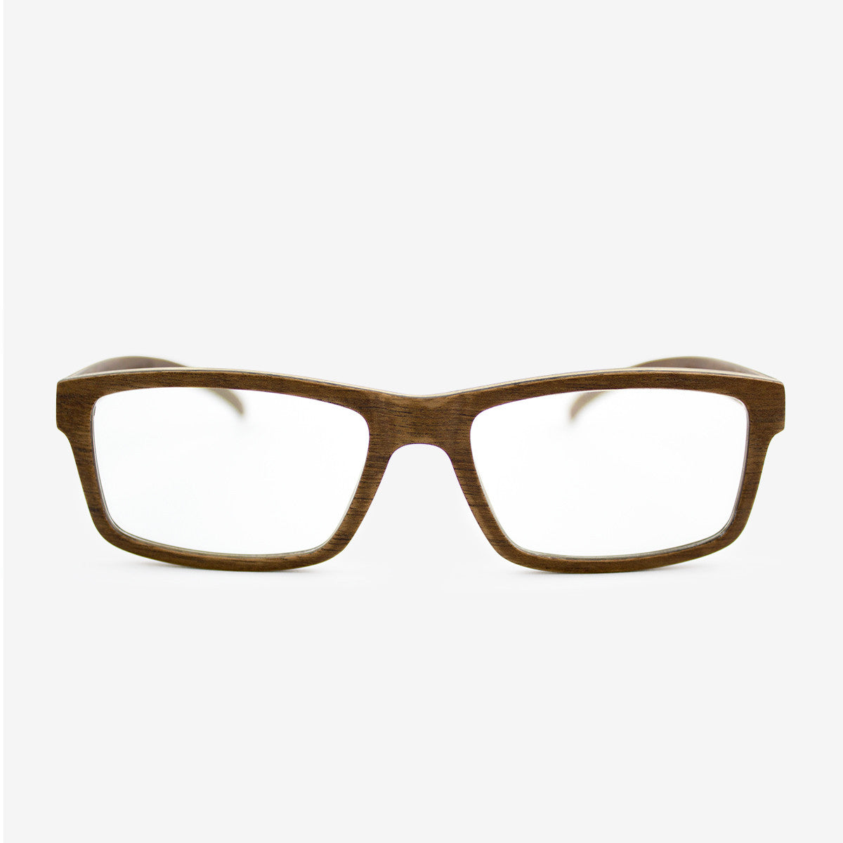 Marco walnut adjustable wood eyeglasses