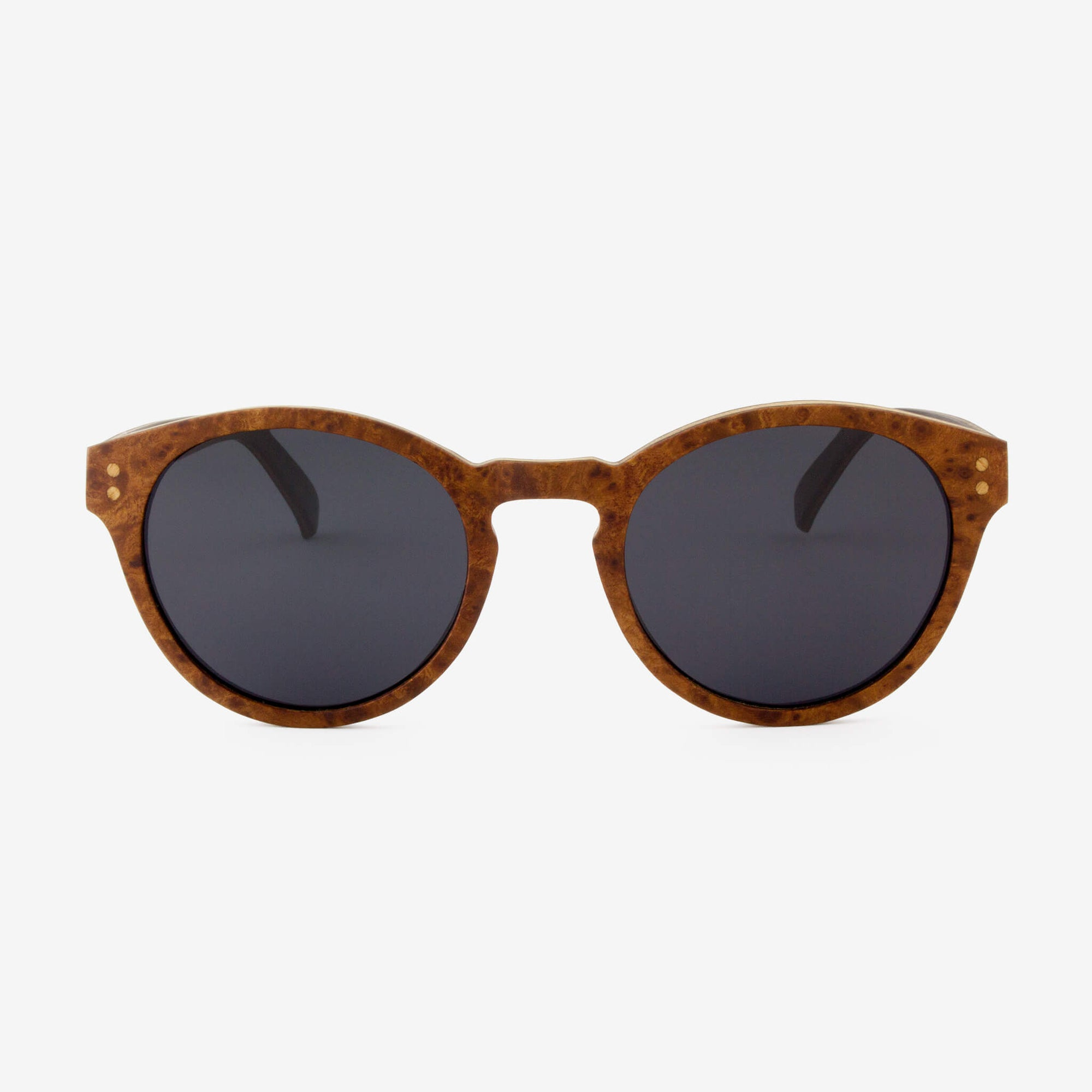 Nassau burl adjustable wood sunglasses