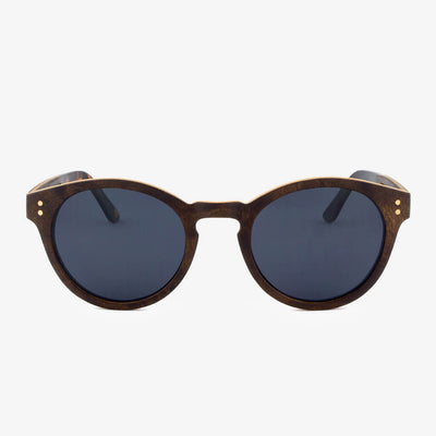 Nassau walnut burl adjustable wood sunglasses