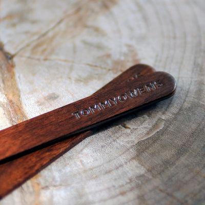 Rosewood Collar Stays for dress shirts