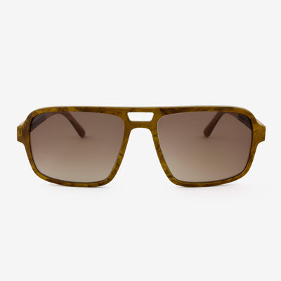 Rockledge burl adjustable wood sunglasses