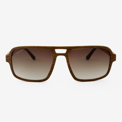 Rockledge black walnut adjustable wood sunglasses