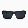 Sebastian metallic fiber acetate and wood sunglasses