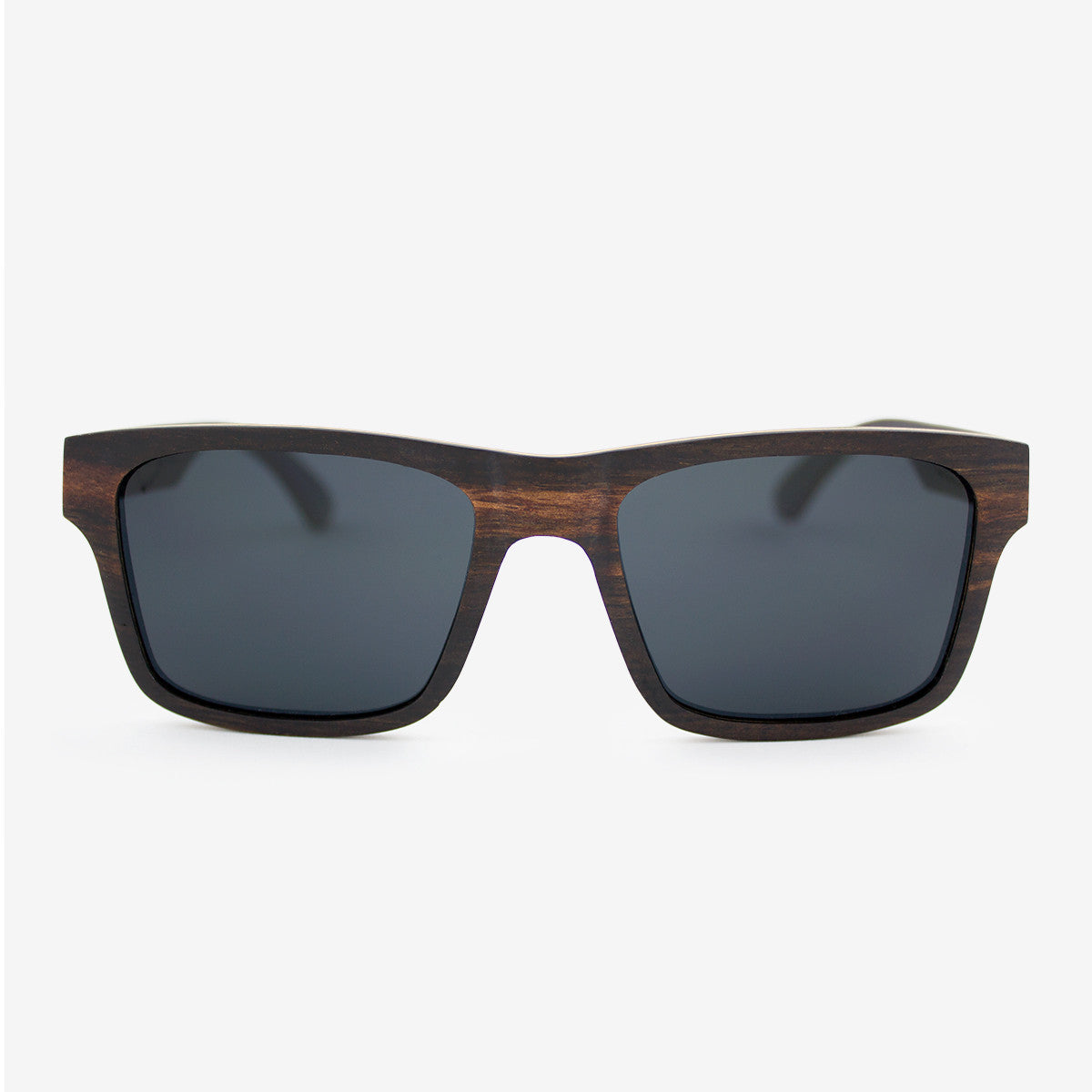 Sebastian ebony adjustable wood sunglasses