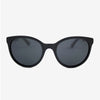 Biscayne Piano Black Acetate and wood sunglasses