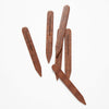 Mahogany Wood Collar Stays for shirt collars