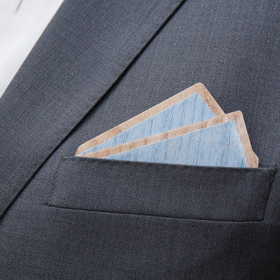 Wood Pocket square