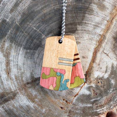 Summer Woodlands Wood Tags
