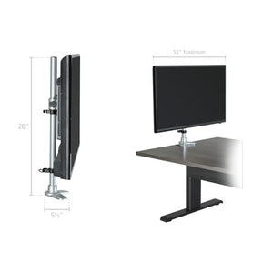 "Universal 52"" Media Mount - thirdwardfurniture"